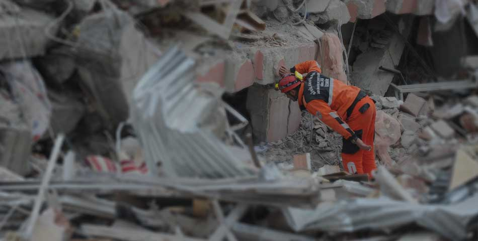 Team Members in Turkey Help After Major Earthquake