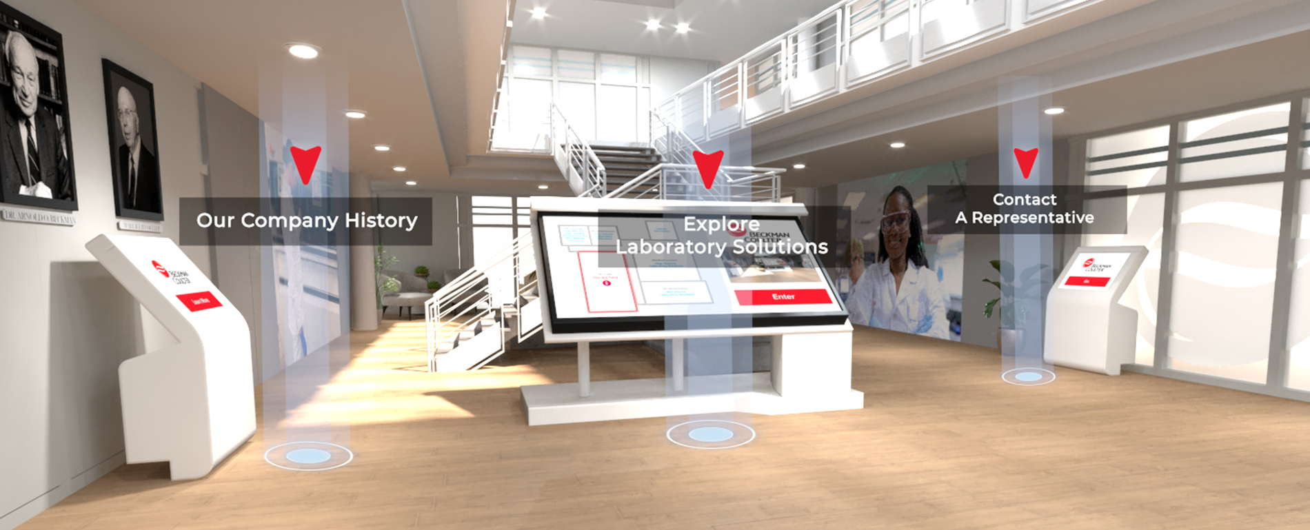 virtual showcase beckmancoulter.com