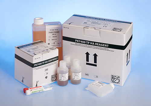 PK7400 TP HA reagent for use on the Beckman Coulter PK7400 Automated Microplate System blood group test instrument