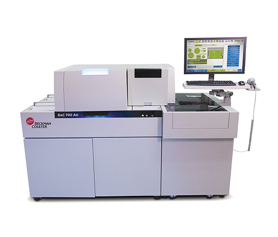 Beckman Coulter DxC 700 AU Clinical Chemistry Analyzer for medium size laboratories