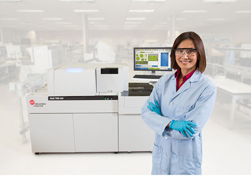HbA1c on the  the DxC 700 AU clinical chemistry analyzer comprehensive assay menu