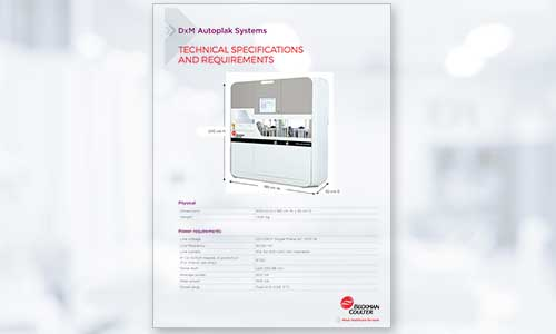 DxM 6100 Autoplak Advanced microbiology automation system data sheet