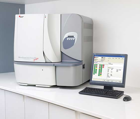 Microbiology System MicroScan WalkAway plus | Beckman Coulter