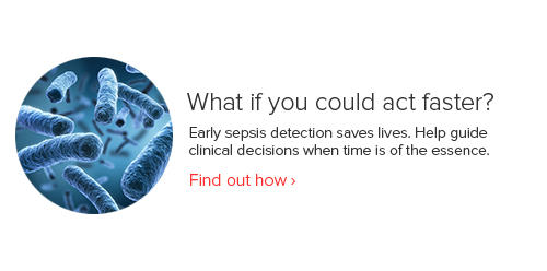 Early sepsis detection saves lives